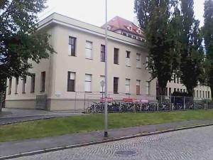 Anbau mit Mehrzweckraum im Pestallozzi-Gymnasium Dresden