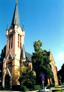 Sankt-Petri Kirche in Dresden